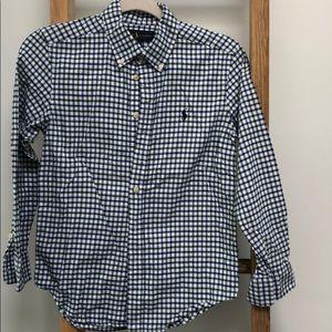 Green & blue Ralph Lauren Button down shirt